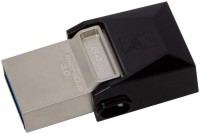 KINGSTON OTG DataTraveler MicroDuo USB 3.0 64 GB Pen Drive(Silver)
