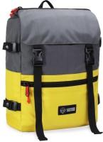 CULTURE VULTURE Cordura Daypack Waterproof Daypack(Grey, Yellow, 20 L)