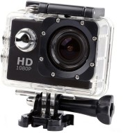 PIQANCY Sport Action Camera Full HD 1080p 12mp Sport Action Camera best quailty Waterproof Camera Multiple Photo Shooting Mounted Suitable Sports and Action Camera(Black, 12 MP)
