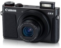 Canon PowerShot G9X(20.2 MP, Approx. 3x Optical Zoom, Approx. 4x Digital Zoom, Black)