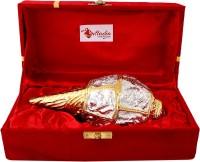 Giftadia Brass Decorative Shankh Conch Pooja Shankh Showpiece - BR013 Decorative Shankh(Gold, Silver)