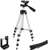 Syvo Tripod-3110 40.2 Inch Portable Camera Tripod With Three-Dimensional Head & Quick Release Plate Tripod (Multicolor, Supports Up to 2000 g) Tripod, Monopod Kit(Black, Supports Up to 1000 g)