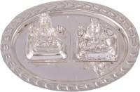Shreeng silver plated mini ganesh laxmi set 3pcs. Stainless Steel(3 Pieces, Silver)