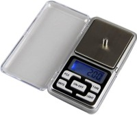 Klick N Shop Digital Pocket Scale for Kitchen Jewellery Weighing, 0.1G to 500G Weighing Scale(Silver)
