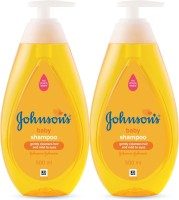 Johnson's New No More Tears Shampoo 500 ml (Pack of 2)(1000 ml)