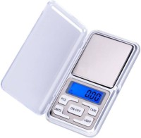 Klick N Shop Digital Pocket Scale 0.01G to 200G for Kitchen Jewellery Weighing Weighing Scale(Silver)