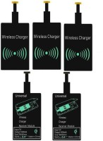OLECTRA Set Of 5 Android Micro USB Universal Qi Wireless Receiver Charging Pad Charging Pad