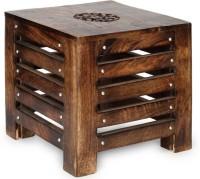 OnlinePurchas Balcony stool Living & Bedroom Stool(Brown)