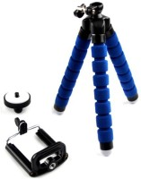 BJORK Universal Flexible Octopus Style Tripod with Monopod Mount Adapter and Long Screw for Mobile FOR MEDIUM MOBILE PHONE AND CAMERA MOBILE HOLDER Tripod, Tripod Kit(Multicolor, Supports Up to 3.5)