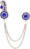 Amber Shine Wedding Coat Brooch Crystal Blue Brooch Brooch(Blue)