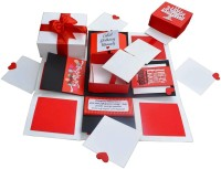 DecuT Romantic Handmade Explosion Box for Birthday Love, Explosion Box for Birthday for All Purpose, Multiplayer (DIY Explosion Box for Birthday)(Multicolor)