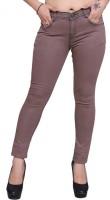 Nifty Slim Women's Brown Jeans