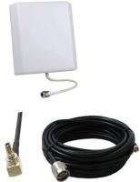 3AN Telecom 2G 3G 4G CDMA Data Card Antenna for All Network Operators (White Router Antenna Booster