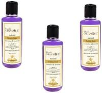 Khadi Organique Khadiorganique lavender & jasmine bubble bath -pack of 3(630 ml)