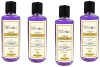 Khadi Organique Khadiorganique lavender & jasmine bubble bath -pack of 4(840 ml)