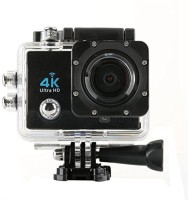 dirAr 4k Wifi Sports Action Waterproof Ultra Hd Dv Camera 16Mp 170 Degree Wide Angle ,2 inch LCD Screen ,SD Card Slot ,32GB Expendable Memory Sports and Action Camera(Black, 16 MP)