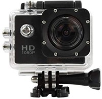 dirar 1080P action camera Full HD Waterproof Sports Action Micro SD Card Slot Video Camera with up to 30m 2-Inch LCD Super Wide Angle Lens 12MP for All Smartphones(Black) Sports and Action Camera(Black, 1080 MP)