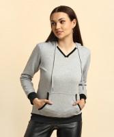 Allen Solly Full Sleeve Solid Women's Sweatshirt
