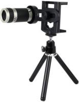 Tygot 8X Zoom Universal Mobile Phone Telescope Camera Lens & Tripod+Adjustable Holder Tripod (Black, Supports Up to 200 g) Tripod Kit(Black, Supports Up to 1500)