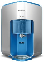 Havells UV Plus Absolute Safety with Double Purification through UV and UF Revitalizer 7 L UV + UF Water Purifier(WHITE, BLUE)