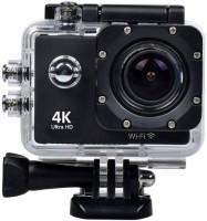 Sundel Acton Camera 4k 16mp Waterproof Camera With Wifi 18 Camcorder Camera(black)