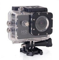 RFV1 (tm) Full HD 1080P Sports DV Action Waterproof Sports and Action Camera(Black, 12 MP)