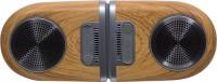 Toreto Twin Magno 10 W Bluetooth  Speaker(Wood brown, Mono Channel)
