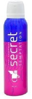 Secret Temptation Play Deodorant Spray  -  For Women(150 ml)