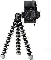 BJORK Lightweight Flexible WE12 Octopus Style Big Tripod for Smartphones, Camera, DSLR with Universal Monopod Mount Adapter Tripod, Tripod Kit(Multicolor, Supports Up to 3.5)
