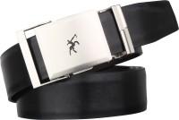 Urban alfami Men Formal Black Texas Leatherite Reversible Belt