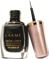Lakme Insta Eye Liner 9 ml(Black)