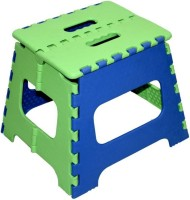 GOCART 10 Inches Super Strong Folding Step Stool for Adults and Kids, Kitchen Stepping Stools, Garden Step Stool Blue Kitchen Stool(Blue, Green)