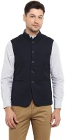Red Tape Sleeveless Solid Men Jacket