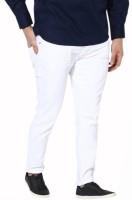 Masterly Weft Regular Men White Jeans