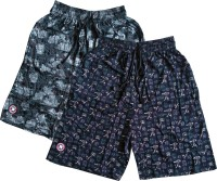 Bumchums Graphic Print Men Multicolor Bermuda Shorts