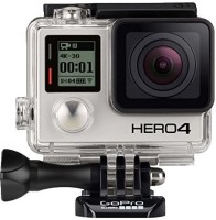 GoPro 4 Hero 4 Black Edition Sports and Action Camera(Silver, 12 MP)