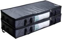 HomeStrap UBSLARGPLYWINGREY2PC Under Bed Storage