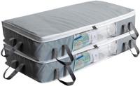 HomeStrap UBSLRGNWTRNFRNT14INWINGREY2PC Under Bed Storage