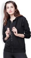 Tokyo Talkies Full Sleeve Solid Women's Sweatshirt