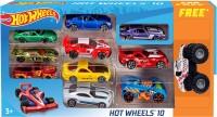 Hot Wheels Promo Pack (10 car Pack+ 1 monster Jam Car) New Edition 2018(Multicolor)