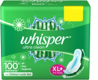 Whisper Ultra Clean XL+ Sanitary Pad(Pack of 44)