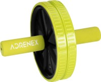 Adrenex by Flipkart Double Wheel Ab Exerciser with Padded Grip(Green)