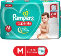 Pampers Pants Diapers New - M(38 Pieces)