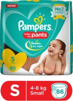 Pampers Pants Diaper - S(86 Pieces)