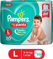 Pampers Baby-Dry Pants Diaper - L(30 Pieces)