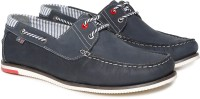 Arrow Boat Shoes For Men(Navy)