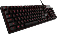 Logitech G413 Wired USB Gaming Keyboard(Black)