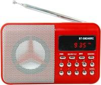 OYD Portable BT246 Digital Sound FM Radio support recording , USB pen-drive, aux in FM Radio(Red)