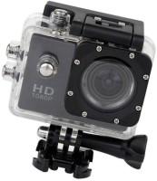 ALONZO 1080P 12 MP Sports Camera & Micro SD Card Slot Sports and Action Camera(Black, 12 MP)