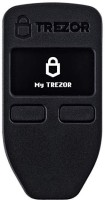 trezor Bitcoin Currency Hardware Wallet (Black) USB Adapter(Black)